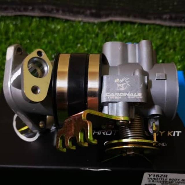Cardinals Racing Throttle Body Yamaha Y15zr/Fz150 36mm 100