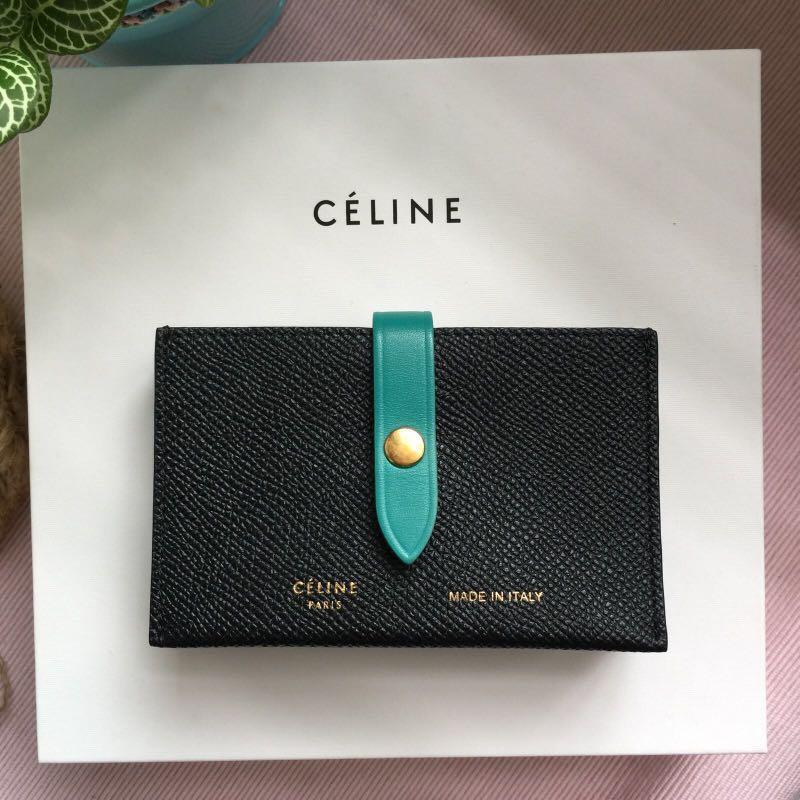 online store 5779e 1f15e Celine Accordion Card Holder
