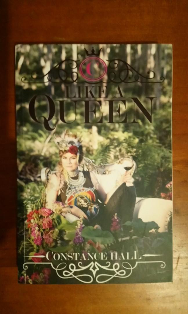 Constance Hall like a Queen book