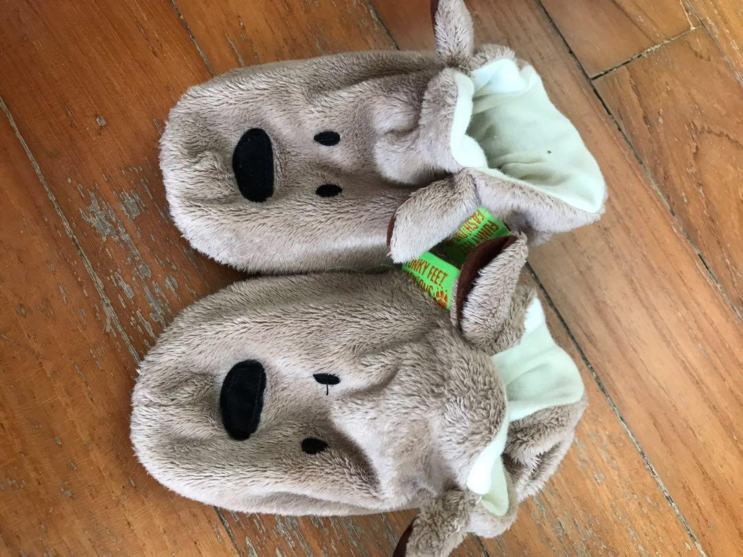 Cuddly soft learn to walk shoes