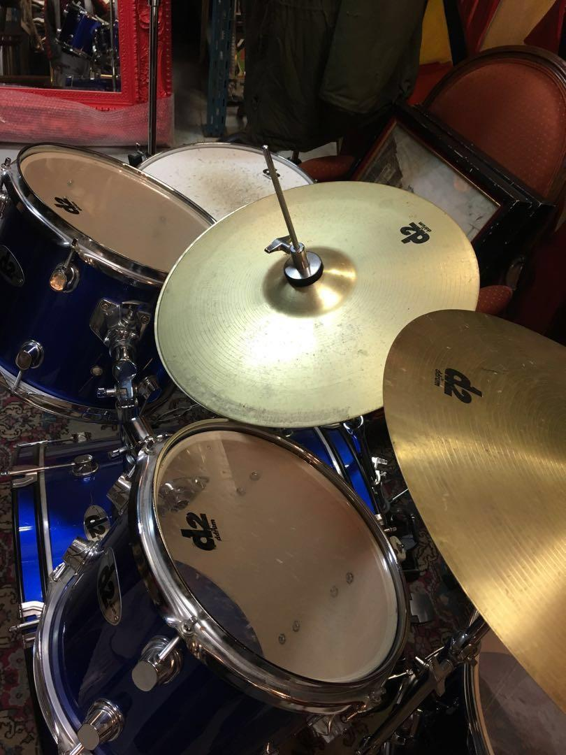 D2 by DDrum 5-PIECE DRUM SET GOOD FOR BEGINNERS GREAT CONDITION