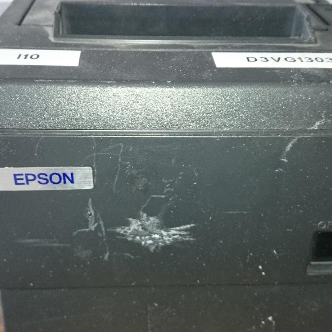Epson Thermal Receipt Printer, 88 IV, parallel port, used