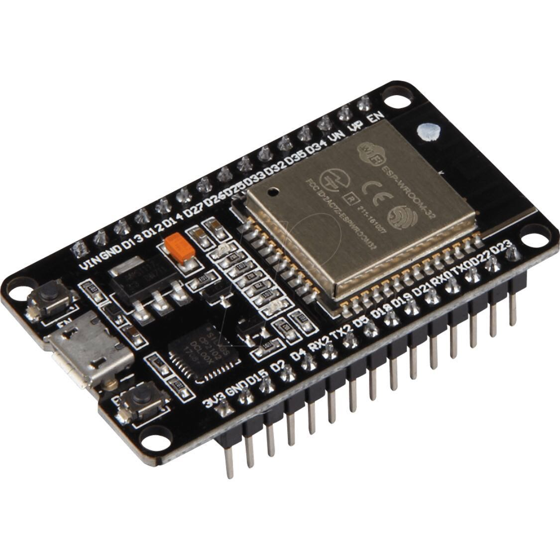 ESP32 Development Board WiFi+Bluetooth Ultra Low Power Consumption Dual  Cores ESP-32 ESP-32S Board