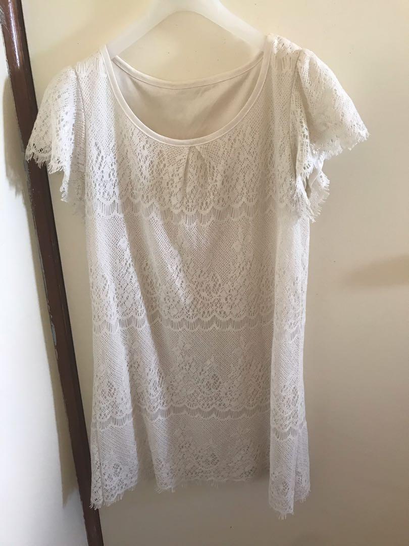H&M lace skirt
