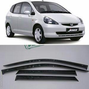Honda Jazzfit Ge6 2002 2008 Carbon Fiber Window Side Visors Sun