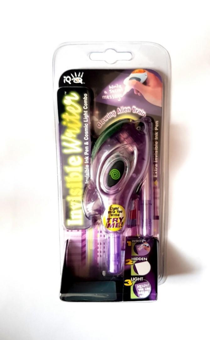 🆕️Invisible Writer - Combo Set IQ Glowing Alien Brain - Ink Pen & Cosmic Light