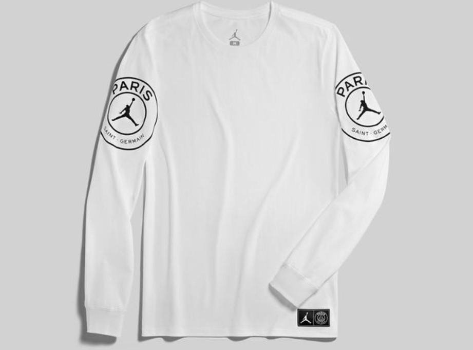 27dd3dc2cfb3 Jordan Brand PSG STMT Long Sleeve Tee