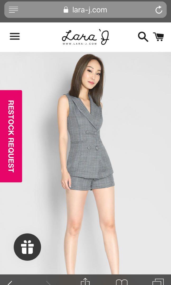 807736eb7 Lara j shorts and vest set, Women's Fashion, Clothes, Dresses ...