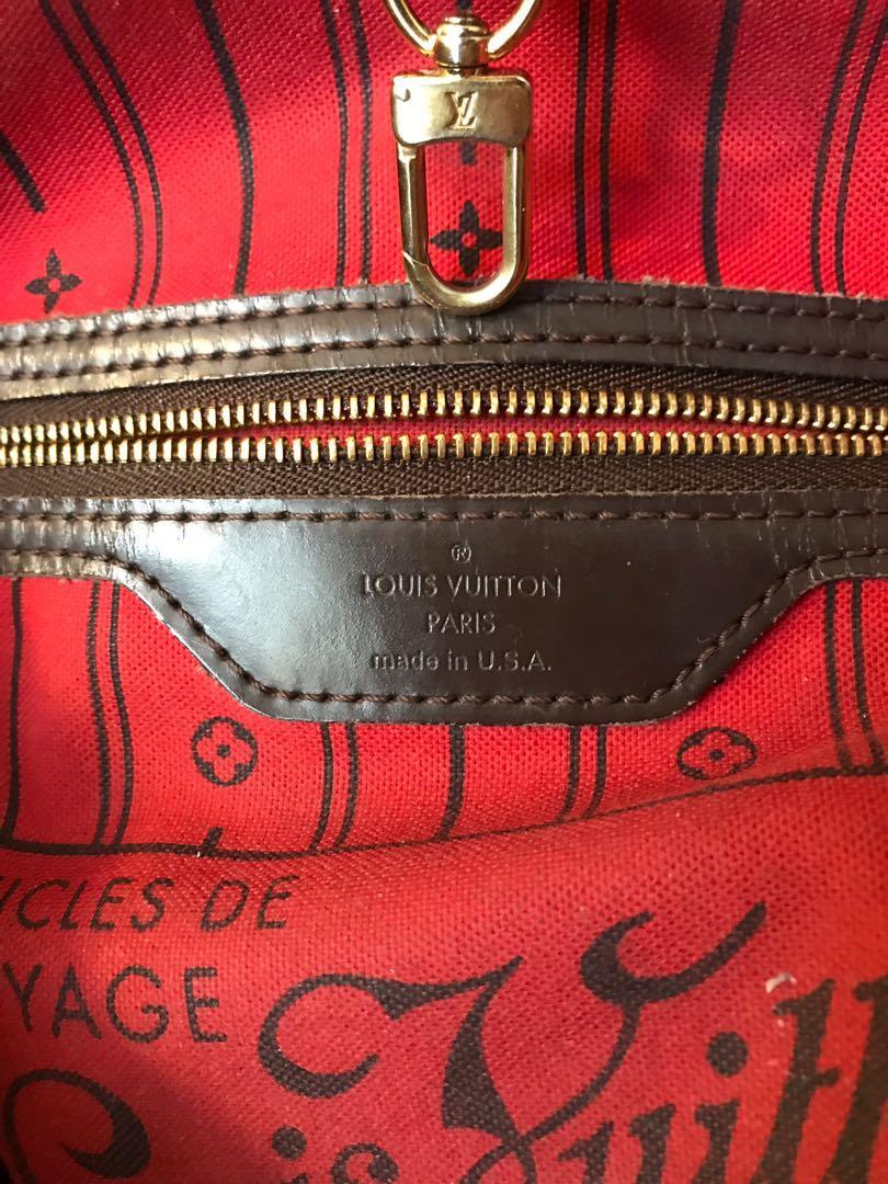 Louis Vuitton Damier Ebene Neverfull MM