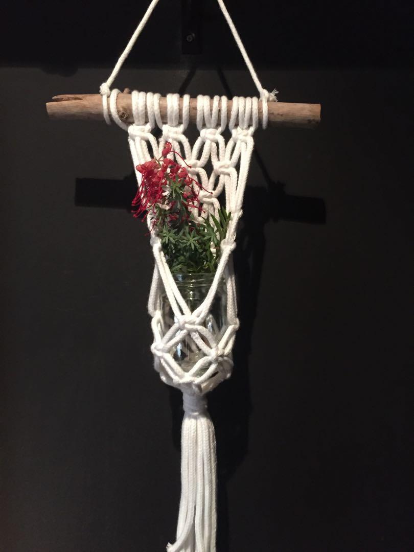 Macrame hanging