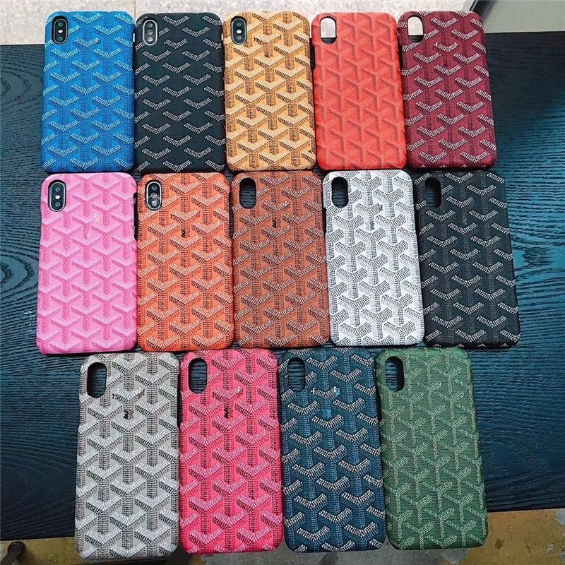 big sale 2215a ef7f5 Maison Goyard Luxury Hard Plastic Phone/Mobile Case/Cover