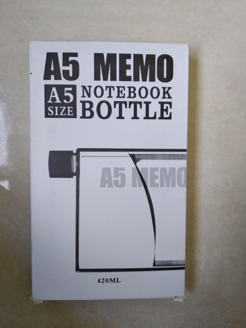Memo notebook Bottle