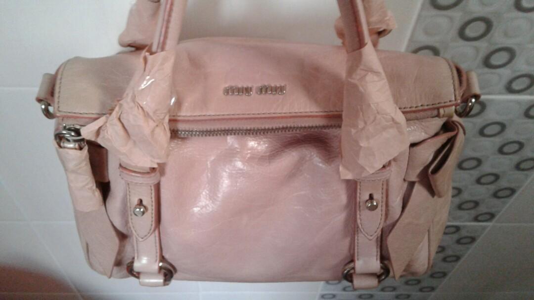 9b3a08d783e1 Miu Miu Bow Bag fast deal
