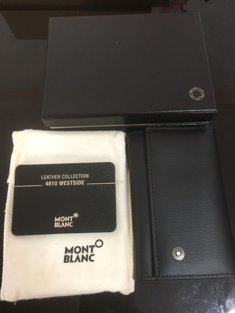 5cab022eff86 Mont blanc wallet. Key holder, Luxury, Bags & Wallets, Wallets on ...
