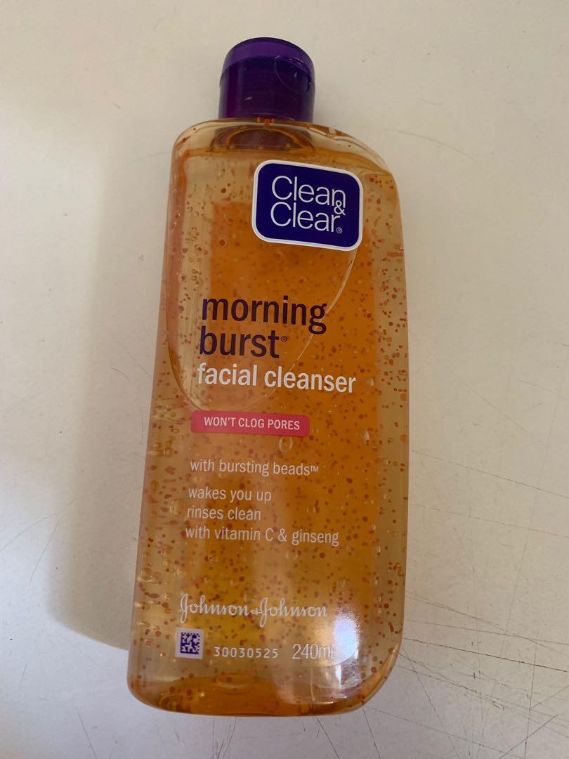 morning burst facial cleanser