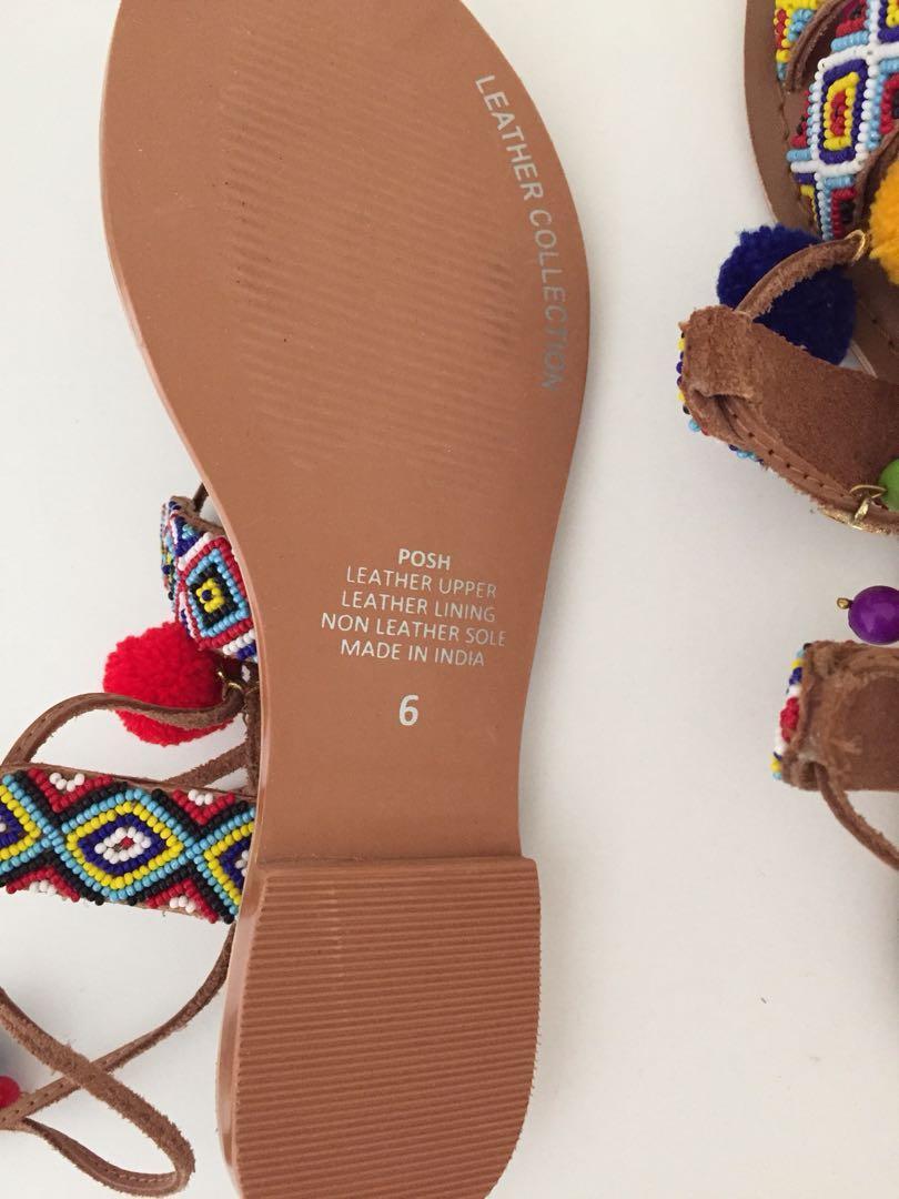 Multi coloured shoes