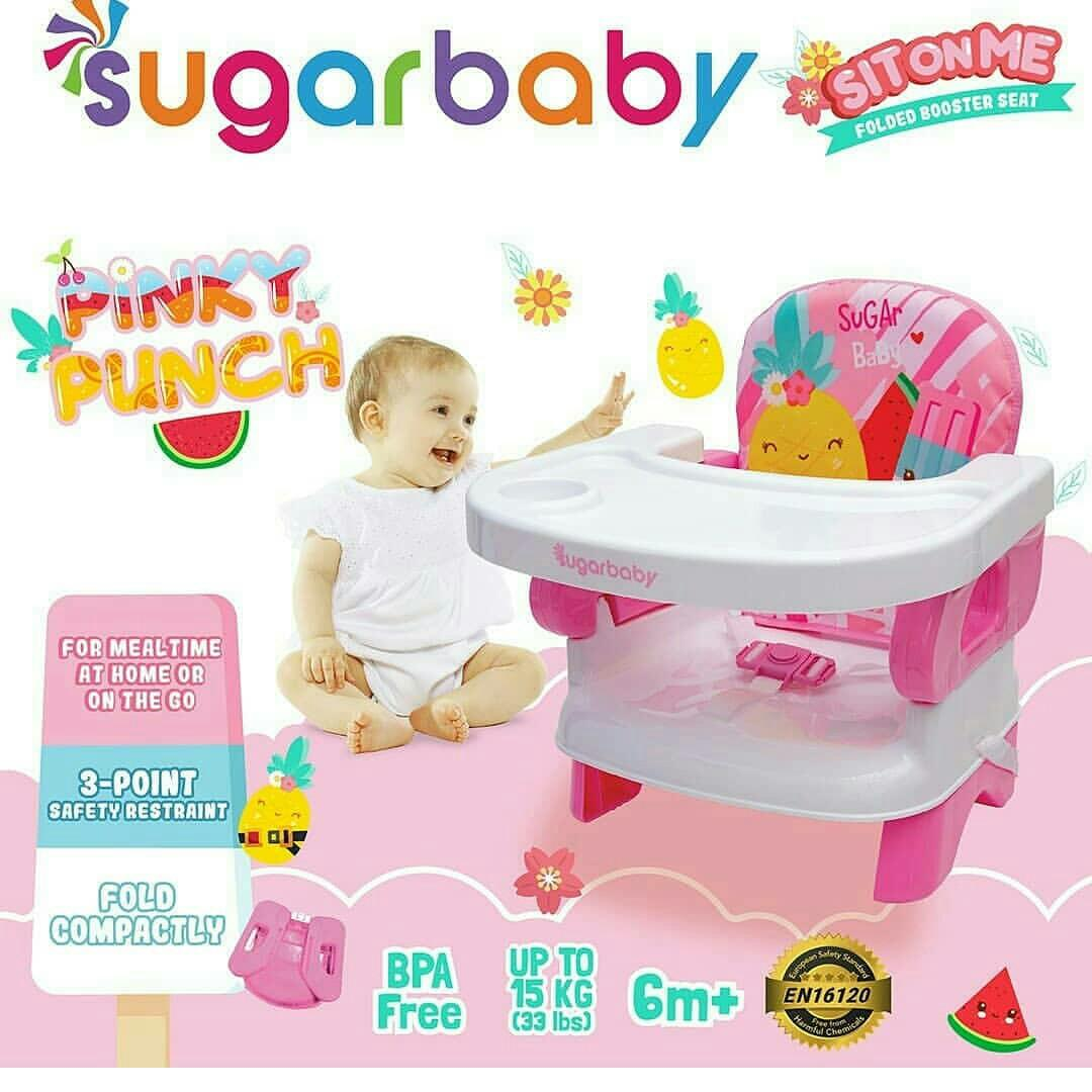 new Sit on me folded booster seat by Sugar Baby