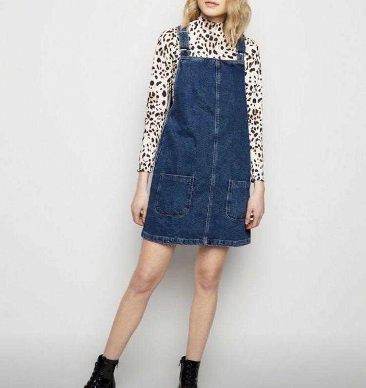 New with tags denim dress size 8 Bardot sheike kookai mac