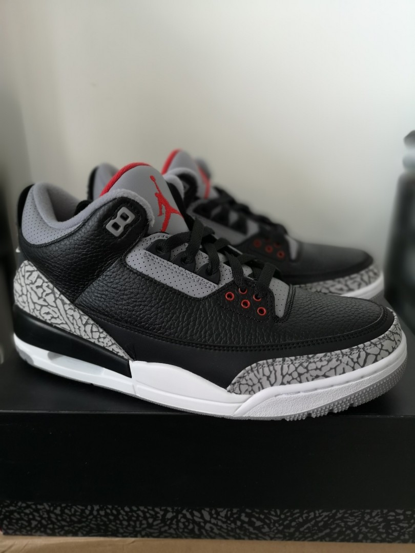 ee1ed41bf701 Nike Air Jordan 3 Black Cement OG