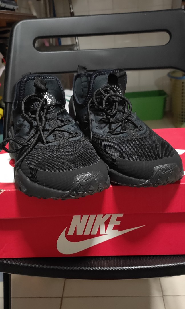 4d5f1f9d6e1138 Nike Huarache Drift Black