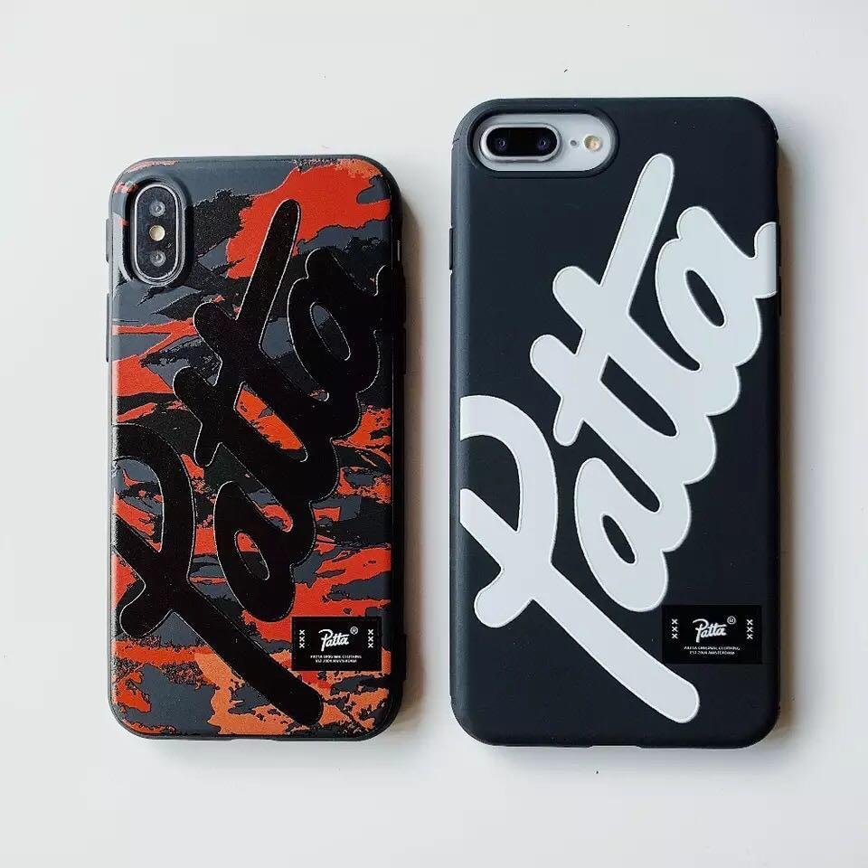 bfb87a0b7f11 Patta Brand Soft TPU Phone Mobile Case Cover