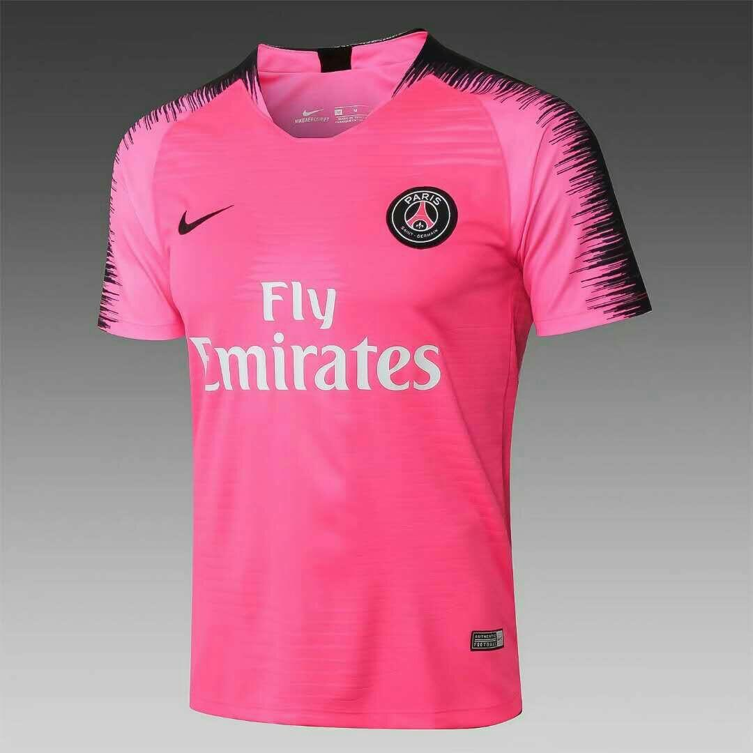 new styles afdac 007ec PSG Pink Training Kit, Sports, Sports Apparel on Carousell