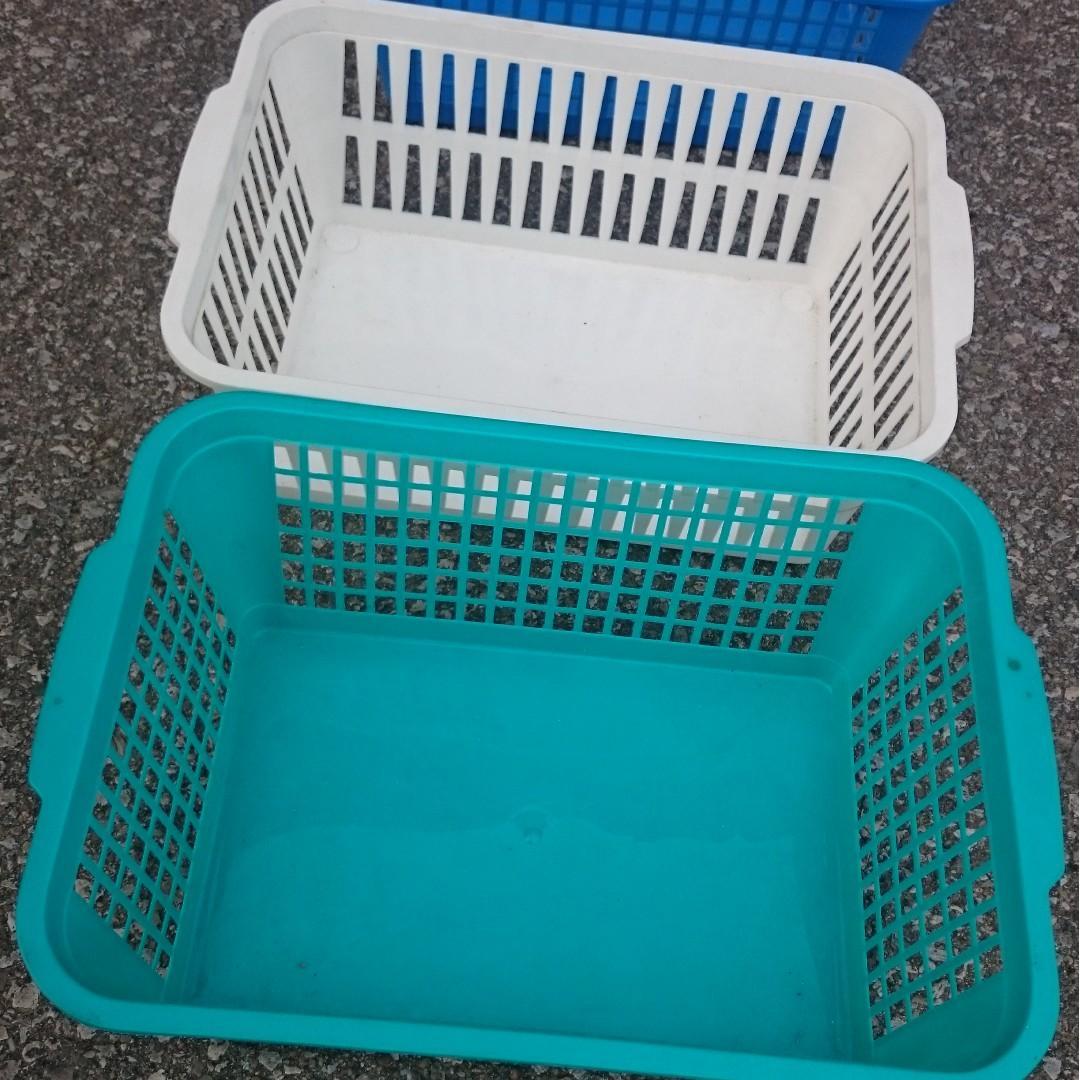 Rectangular Bins for storaging/organizing space in garage or store/workshop
