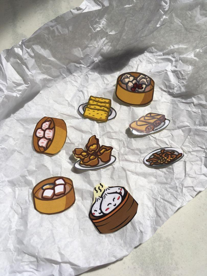 Sticker series: Chinese food