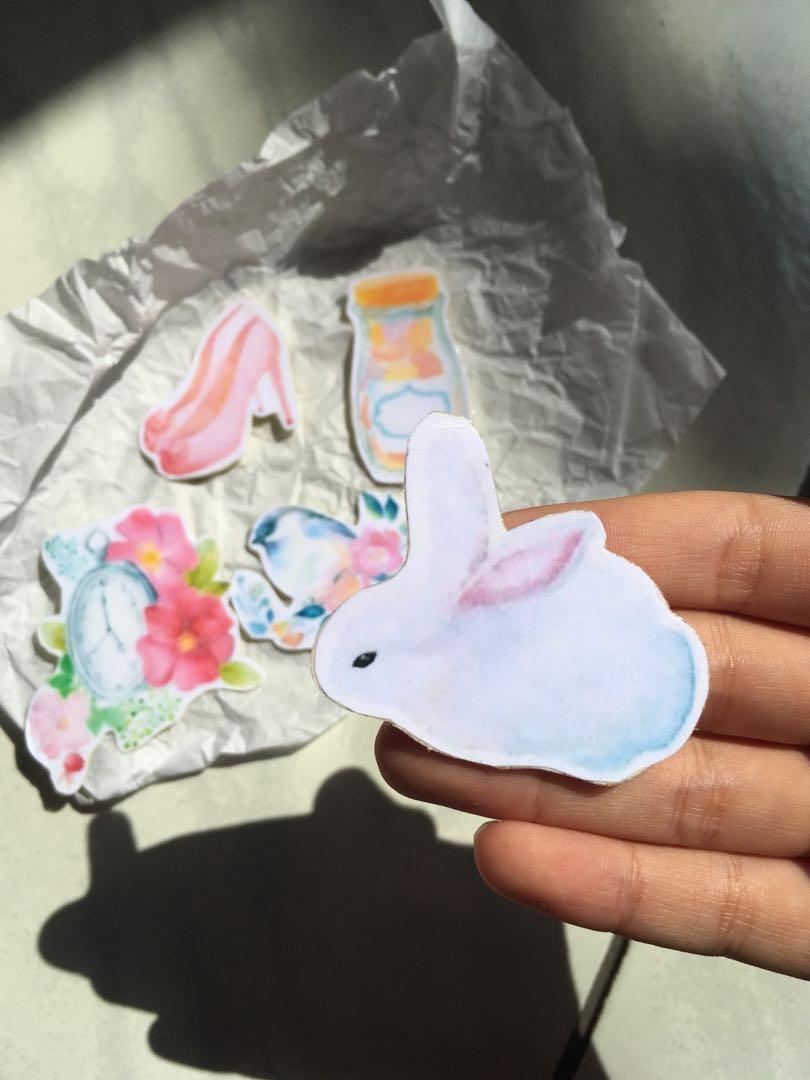 Sticker series: Pastel tingz