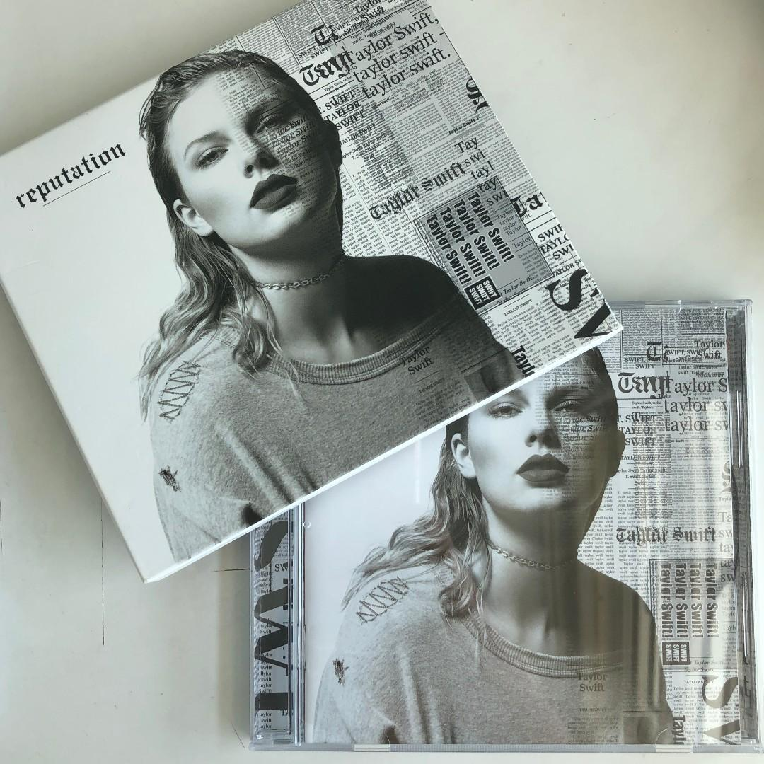 Taylor Swift Reputation Cd Music Media Cds Dvds Other Media On Carousell