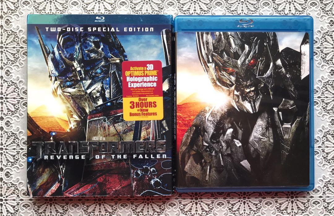 Transformers - Revenge of the fallen Blu-Ray 2 disc special