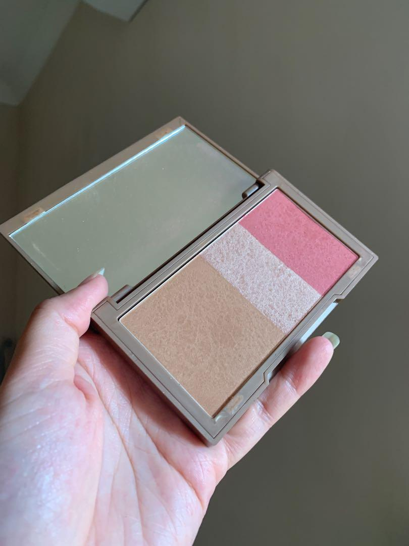 Urban decay naked flushed bronzer highlighter blush face palette