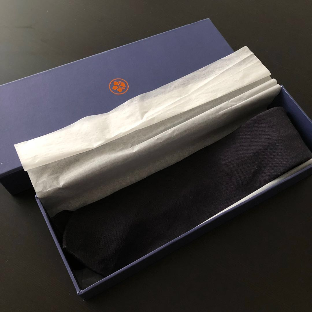 ca184fecbda8 Vanda Fine Clothing Navy Tie, Men's Fashion, Accessories, Ties ...