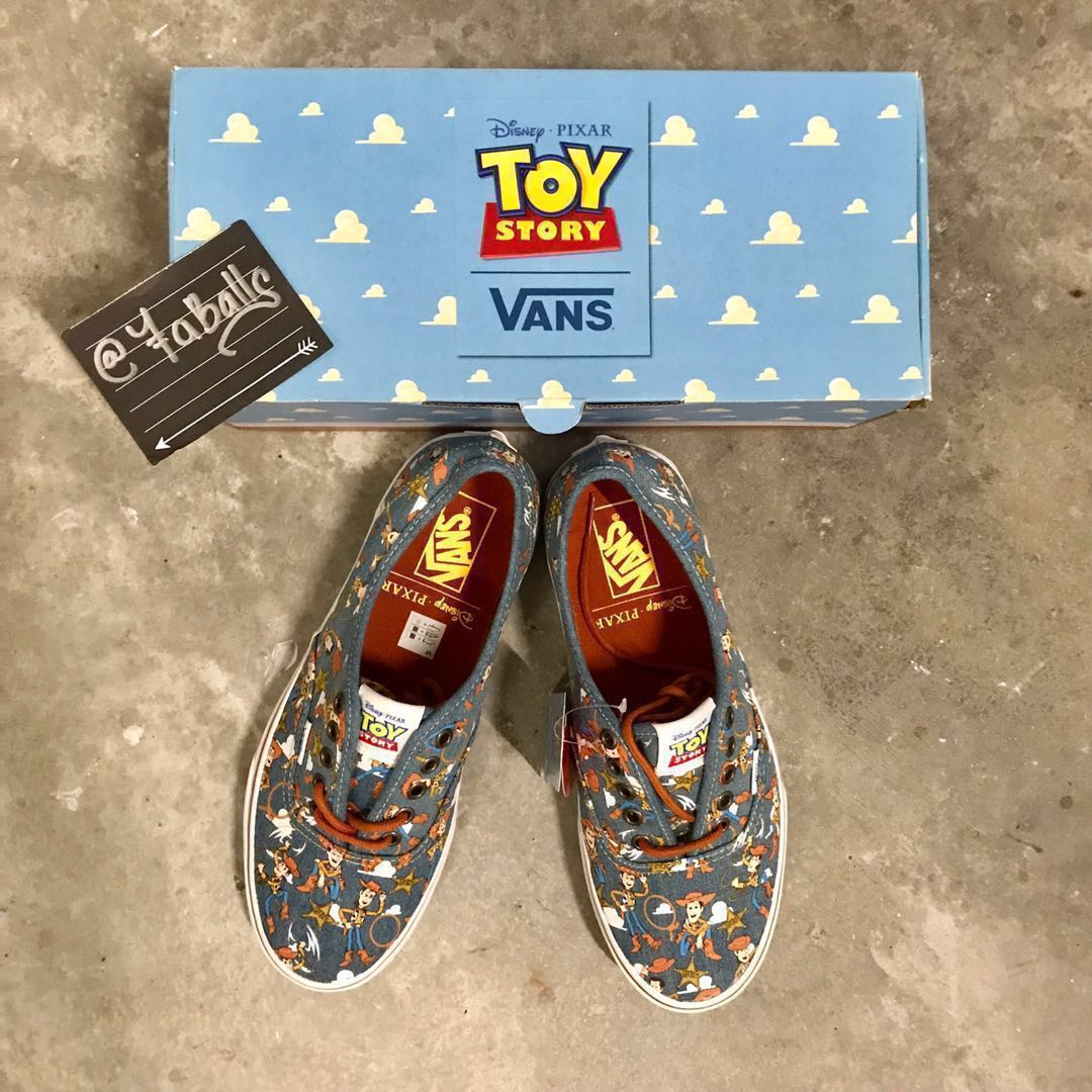 9fcd60a4c7 Vans Toy Story (Woody) (Authentic)