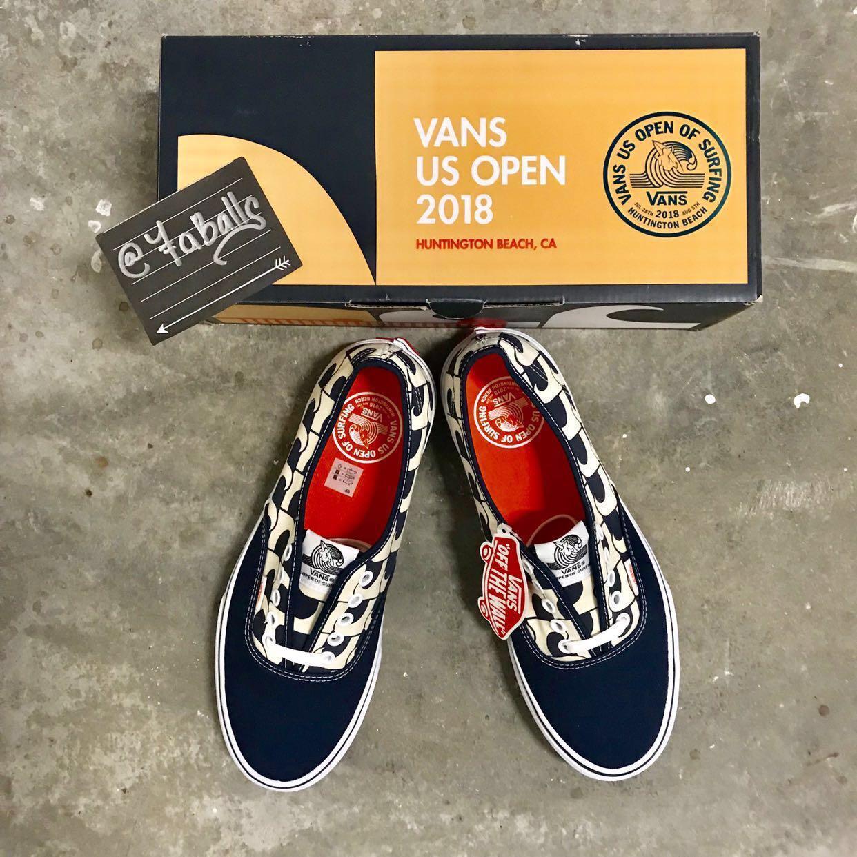 d29a81ca4a Vans US Open 2018 (Navy Waves) (Authentic)