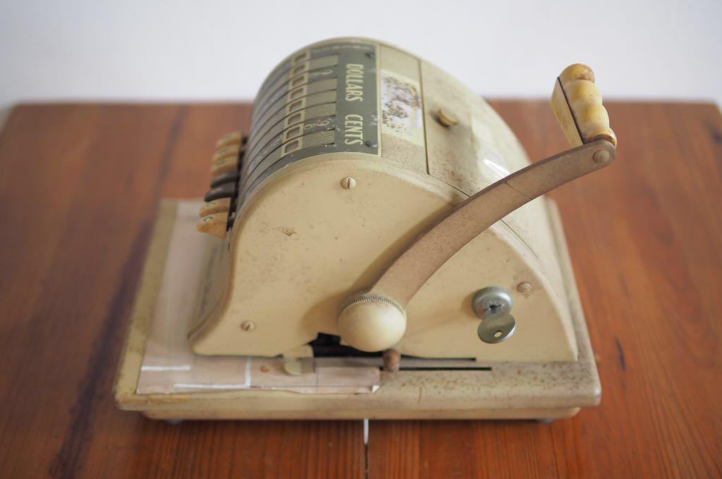 Vintage Cheque Writer Machine (The Paymaster Series 8000