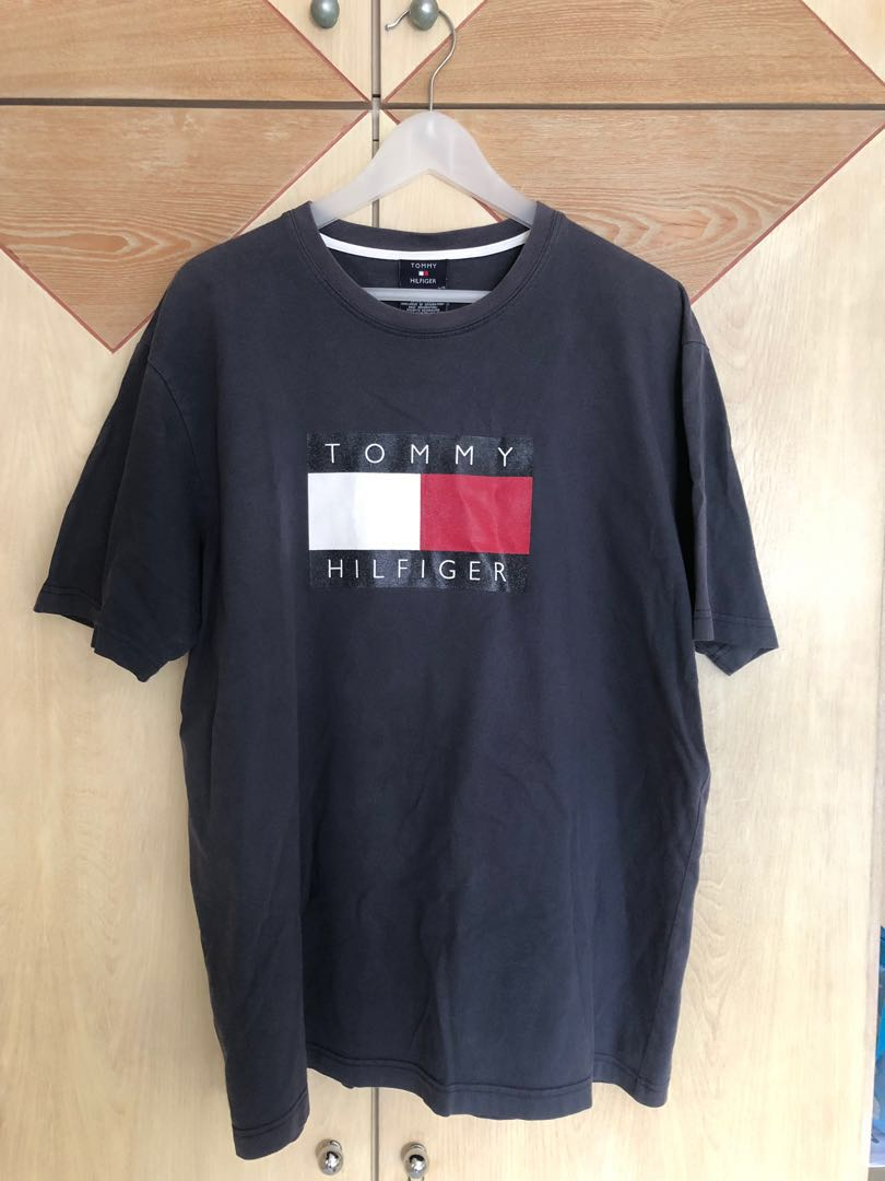 9fb427d9 Vintage Tommy Hilfiger tshirt, Men's Fashion, Clothes, Tops on Carousell
