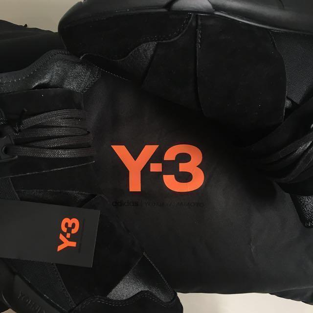 94cff6c380f87 Y-3 Qasa High Lux  Triple Black
