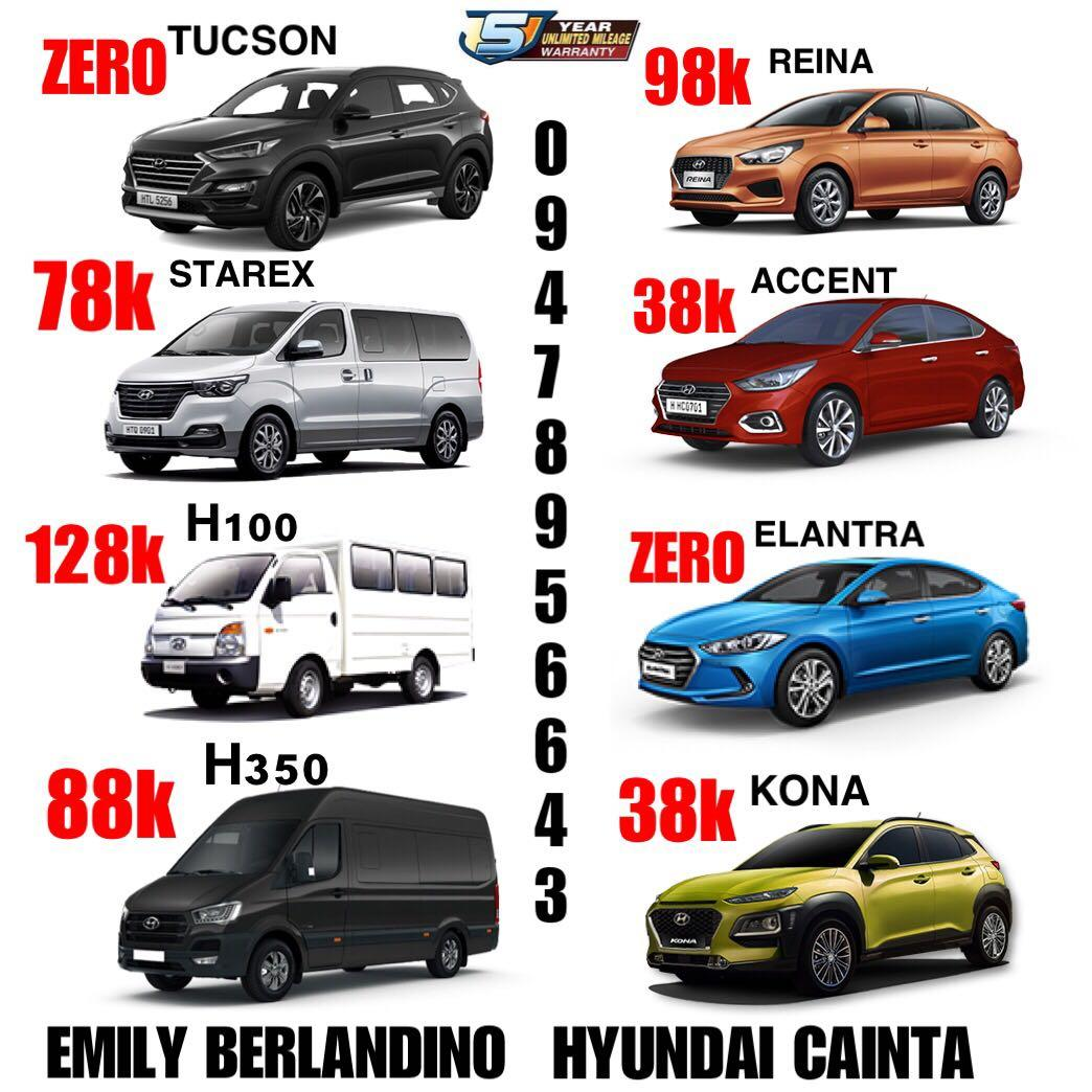 Zero Down Promo Sale Brandnew Hyundai Cars Cars For Sale New Cars On Carousell