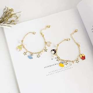 🚚 Cinderella / Snow White Charm Bracelet