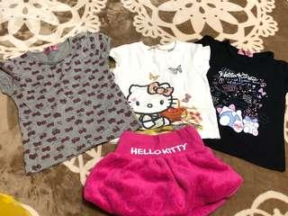 Hello Kitty Shirts&Skirts