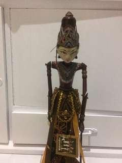 Cupumanik wooden puppet sri rama