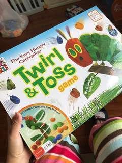The very hungry caterpillar玩具