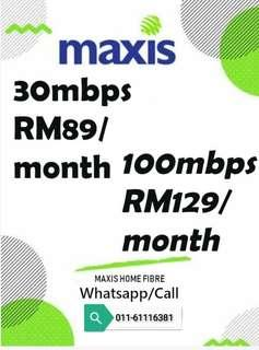 Maxis Internet Wifi Package