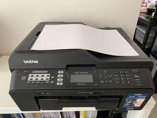 Brother printer A3 彩色打印影印機 壞機
