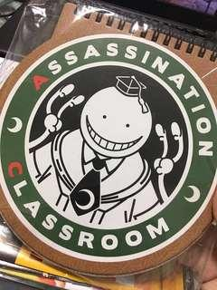 Assassination Classroom Notebook