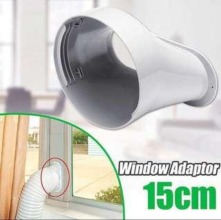 Window adapter for portable aircon ac hose,duct,pipe,vent