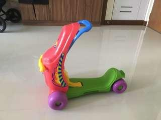 2 in 1 baby scooter