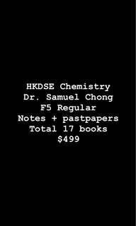 最齊Chemistry Dr. Samuel Chong