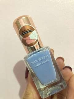 Sky Blue Nail Polish by Minisoo (Peel Off & Water Based)